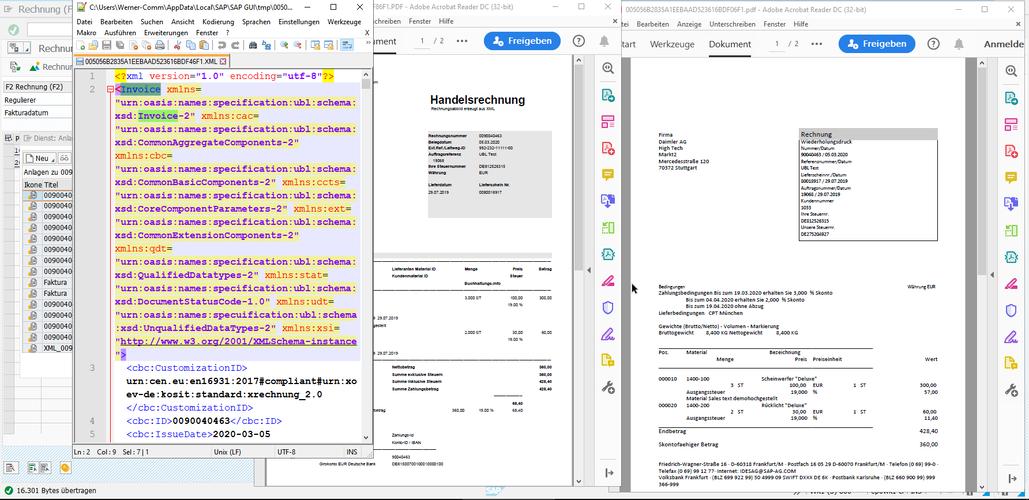 UBL XML Anzeige aller Dokumente.png